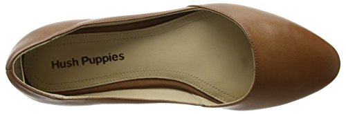 Hush Puppies Ladies Jovanna Phoebe Chiuso Ballerine Brown (tan)
