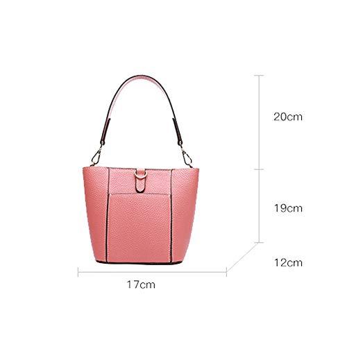 à bandoulière PU Mme de sauvage mode à femme Sac main Sac bandoulière Sac simple à Pink pour xHqIB50F