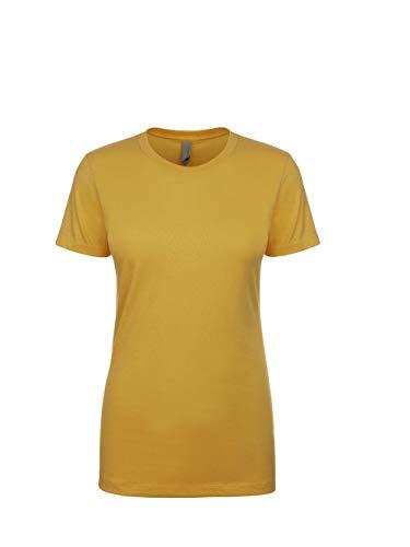 Next Level N3900 Ladies' Boyfriend T-Shirt Antique Gold M