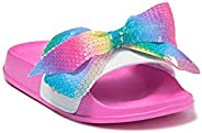 JoJo Siwa Girls' Slide Sandals - Mermaid or Unicorn Style S