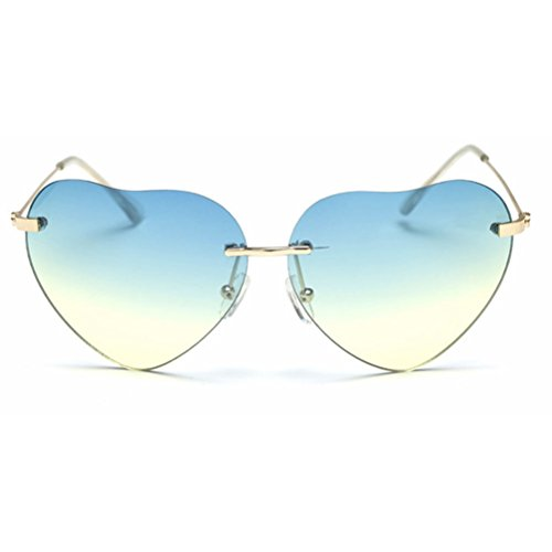 Retro UV400 Sunglasses Women Driving Eyewear Shades Linyuan Glasses 6 Heart shaped fdqdBw