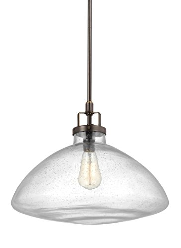 Sea Gull Lighting 6614501-782 Belton One-Light Pendant, Heirloom ()