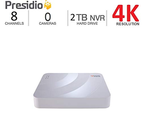 (Q-See 4K Presidio Knox NVR 8 Channel 2 TB Ultra HD IP Surveillance with H.265+ and IVA (K8CN1.1-2))