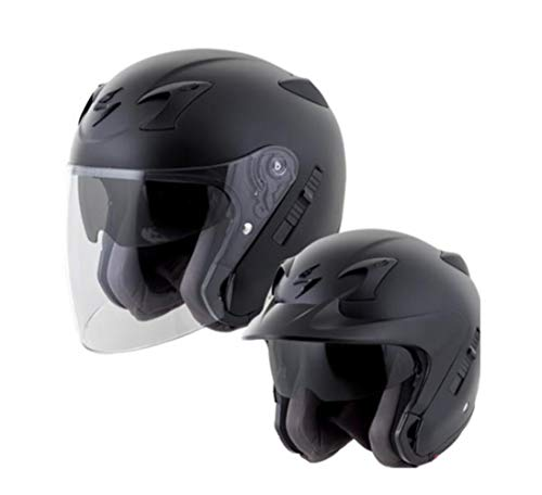 - Scorpion EXO-CT220 Street Motorcycle Helmet (Black, XXX-Large)