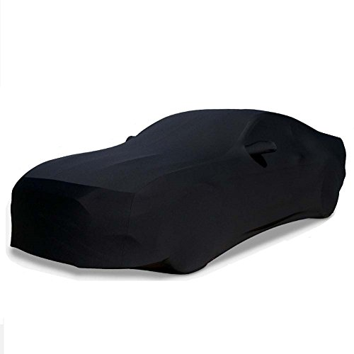 2015-2019 Mustang Ultraguard Stretch Satin Indoor Car Cover (Black)