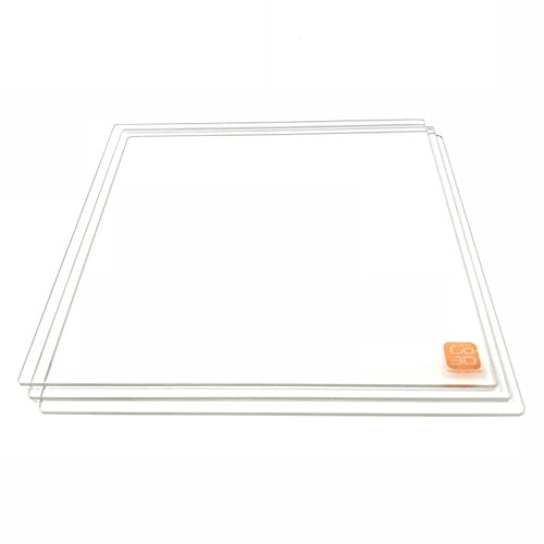 Amazon.com: 220mm x 220mm Borosilicate Glass Plate/Bed w ...