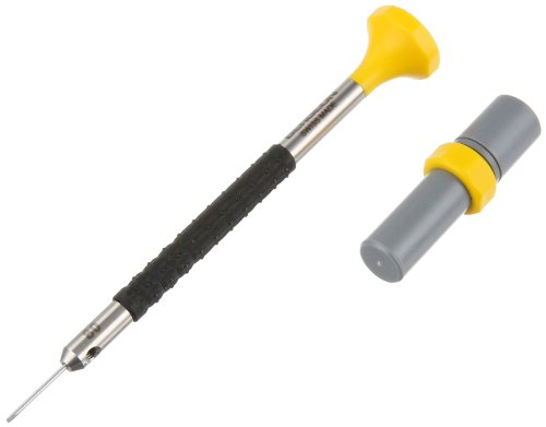 Bergeon 55-682 6899-AT-080 Stainless Steel Ergonomic 0.80mm Screwdriver with Spare Blades Watch Repair (Bergeon Driver)