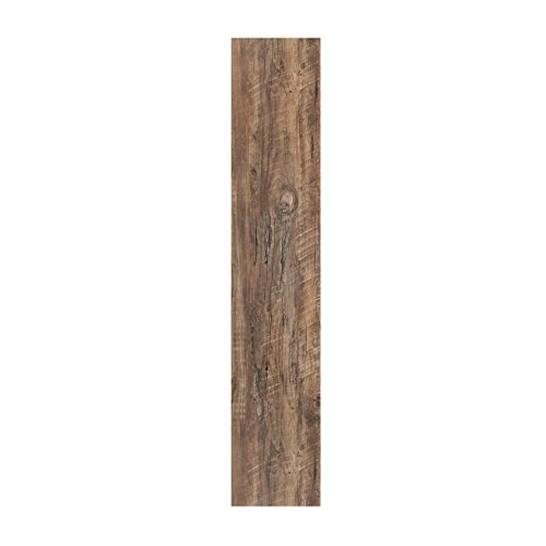 Achim Home Furnishings LSLYP20308 Flex Flor Looselay Vinyl Plank 9in x 48in 8 Planks/24 sq. ft. Flooring, Aged Driftwood Driftwood Tile Flooring