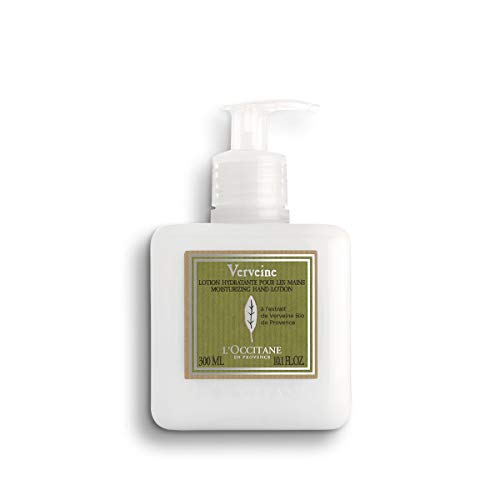L'Occitane Verbena Hand Lotion Enriched with Grapeseed Oil and Organic Verbena, 10.1 fl. oz. from L'Occitane