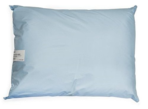 McKesson - Bed Pillow - 20 X 26 Inch - Blue - Reusable - McK by McKesson (Image #1)