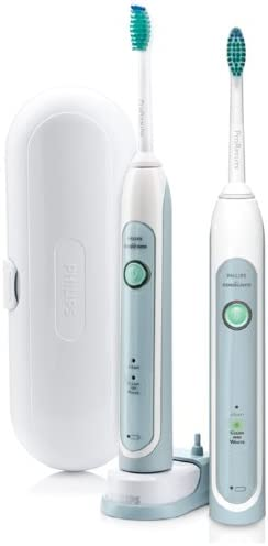 Philips Sonicare HX678233 HealthyWhite Rechargeable Toothbrush 2 Pack