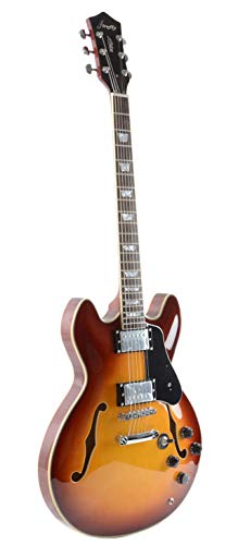 Firefly FF338 Semi Hollowbody Guitar Ice Tea