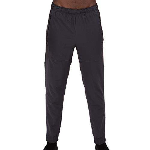 Layer 8 Men's Stretch Woven Running Gym Pants (Medium, ()
