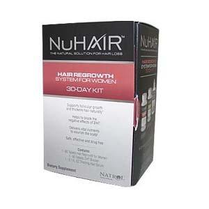 Natrol Nuhair Women's 30 Day Kit