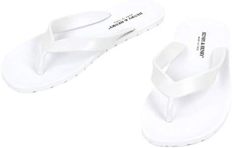 [ヘンリーアンドヘンリー] HENRY&HENRY 正規販売店 サンダル フリッパー FRIPPER SANDAL WHITE 31 (コード:4044346601)
