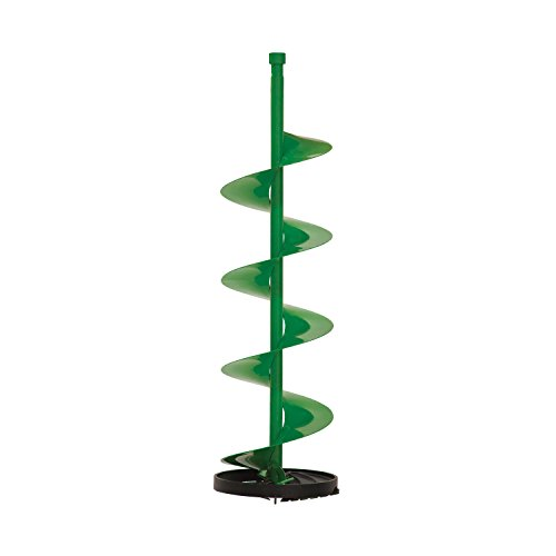 ION 29100 Straight Through 10-Inch Ice Auger Bit with Cast Aluminum Bottom, Green
