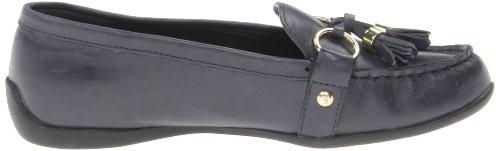 Bella Vita Womens Bella Vita Mallory Ornamented Loafer Navy Leather