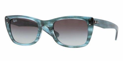 c27b47c23b Ray Ban RB4148 Caribbean Sunglasses-793 32 Azure Blue Gray (Gray ...