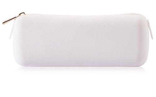 Frost White Silicone (Pisidia Unisex Make-Up / Sunglass Eco-friendly Vegan Silicone Case Frost)