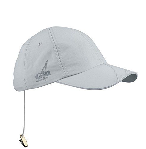 Gill Unisex Technical UV Baseball Cap One Size Fits All, Silver Gray