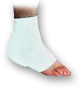 Heelbo Heel/Elbow Protector, Heelbo Heel-Elbw Prtctr Lg Wht, (1 PACK, 2 ()