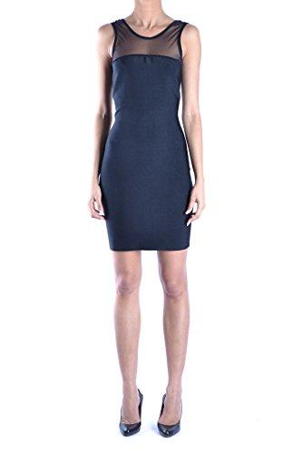 Guess Mujer MCBI143003O Negro Viscosa Vestido