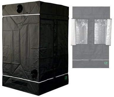 Growlab 40608080L 100120120L 145Caja de cultivo, Armario,Tienda, cuarto oscuro, diferentes tamaños, tienda para plantas, Invernadero interior