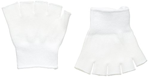 FootSmart Gel-Lined Compression Toe Separating Socks, Pair , White / One Size