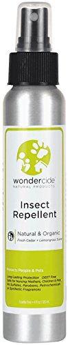 Wondercide Natural Personal Insect Repellent - Lemongrass - 4 Oz