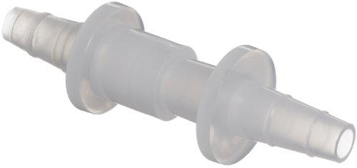Bel-Art Quick Disconnects for ¼ to ⅜ in. Tubing; Polyethylene (Pack of 12) (F19730-0002) ()