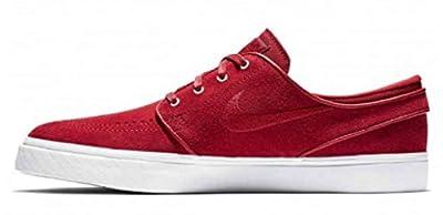 Nike Men's Zoom Stefan Janoski Skate Shoe (9.5 M US, Team Crimson/Team Crimson)