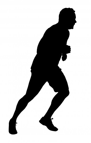 Male-Marathon-Runner-Silhouette-Wall-Mural-by-Wallmonkeys-Peel-and-Stick-Graphic-WM317404