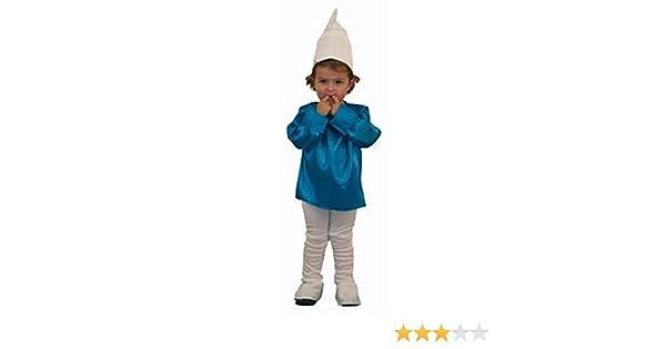 Disfraz de pitufo, duende o enanito - Talla - 5-6 años: Amazon.es ...