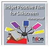 """Waterproof Inkjet Positive Film For Silk Screen 13"""" x 19"""" (100 Sheets)"""