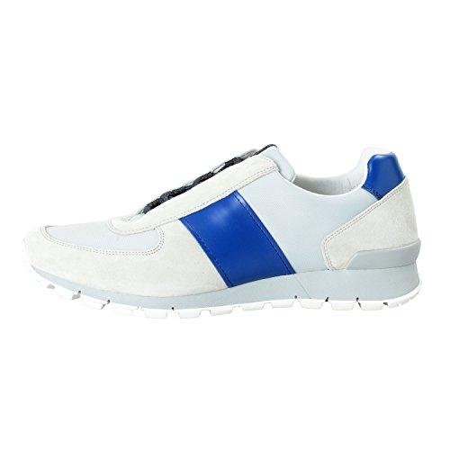 Prada Zapatillas De Deporte De Gamuza De Cuero Para Hombre Zapatos Us 11.5 It 10.5 Eu 44.5
