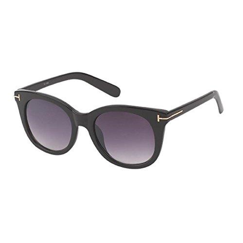 de adorno UV del gato forma T sol teñido de Morado metal Net Chic de de 400 en ojo gafas qxEzvnCPSw