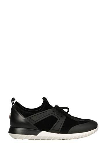 Moncler A Porter Mujer 2021000019XR999 Negro Algodon Zapatillas