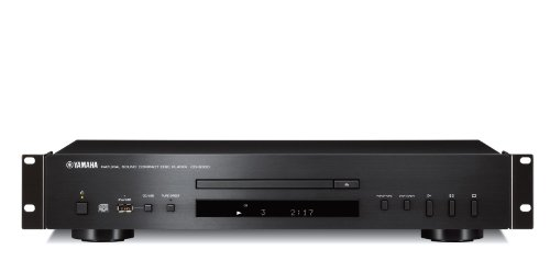 - Yamaha CD-S300-RK Rackmount CD Player, USB Port, MP3, WMA Playback, DAC Conversion