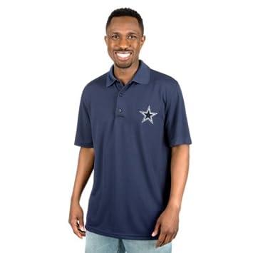 9b1d6323f8e Amazon.com : Dallas Cowboys Logo Premier Polo : Clothing