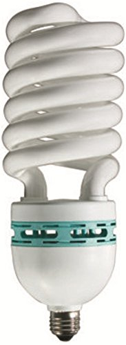 (Eiko 81184 - SP105/41/MED - 105 Watt Spiral Compact Fluorescent Light Bulb, 4100K, Medium Base)