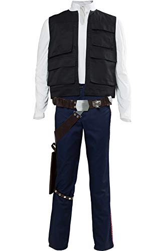 Cosplaysky Men's Halloween Costume (Vest+Shirt+Pants) -