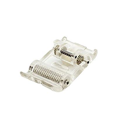 Alfa A940330000 - Prensatelas con Rodillos para Materiales elásticos y Gruesos, Acero Inoxidable
