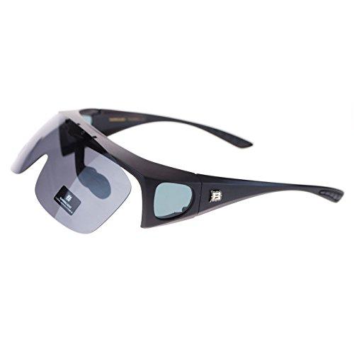 Polarized Fit Over The Glasses (OTG) Sunglasses Flip Up Lens