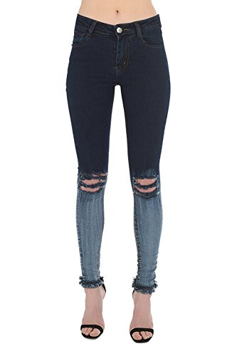 Dark Jeans Blue Donna Real Shade Twin Hoxton XP08Z0