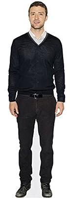 Justin Timberlake Cardboard Cutout (lifesize OR Mini Size). Standee. Stand Up.