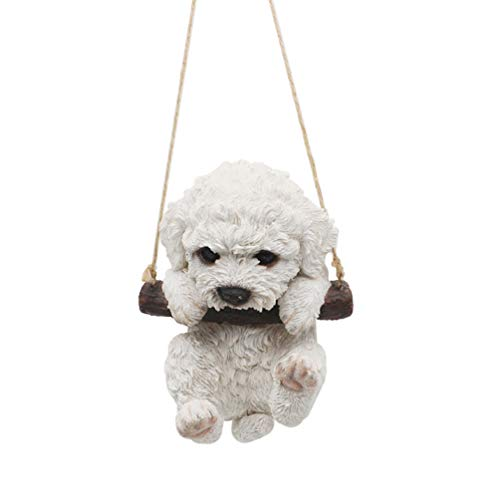 CITONG Hanging Puppy Dog Statue ()