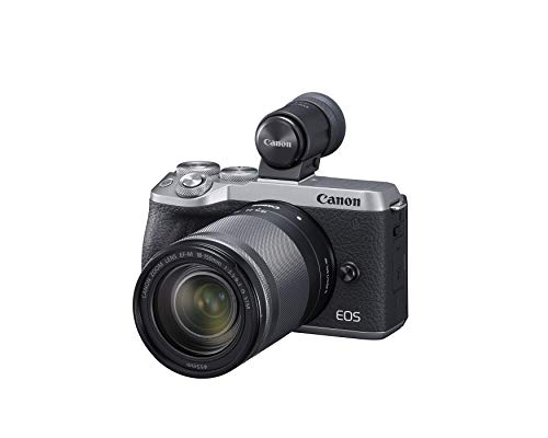 Canon EOS M6 Mark II (Silver)+Ef-M 18-150mm F/3.5-6.3 is STM + Evf Kit