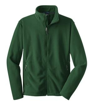 Port Authority Youth Value Fleece Jacket, Forest Green, S