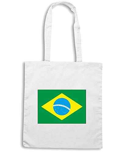 Borsa Shirt BRSILE BRAZIL Speed Shopper WC0041 Bianca P85px
