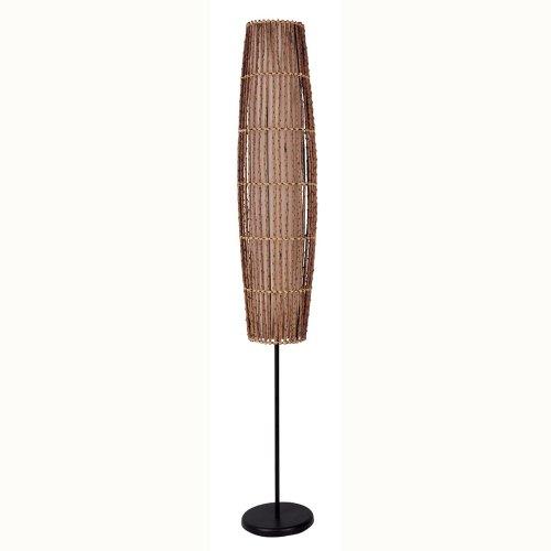 ORE International 31140F Rattan Floor Lamp